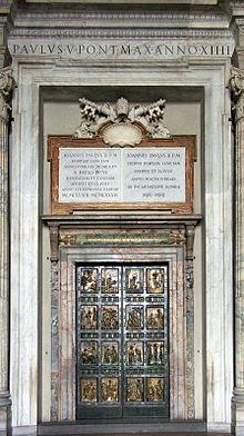 Rom,_Vatikan,_Petersdom_-_Heilige_Pforte_1