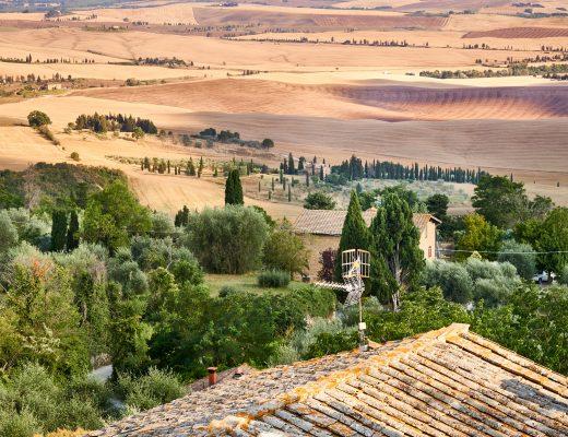 Kuusi kukkulakaupunkia Toscanassa